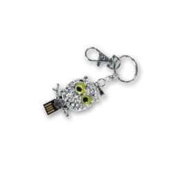 Llavero Buho con Memoria USB 8 gb