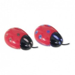 Mouse Con Cable USB Mariquita