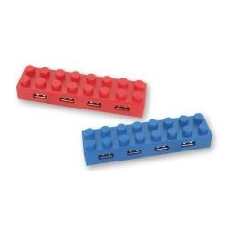 Hub USB 2.0 Lego Colores Surtidos