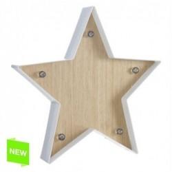 Adorno Pared Estrella con LED 34 cm