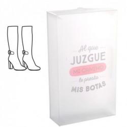 Caja Plegable Calzado Botas