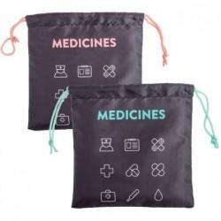 Bolsa Viaje x2 Colores Medicinas