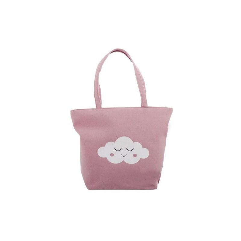 Bolso Nube Rosa 44 cm