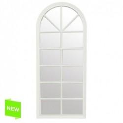 Espejo Pared Blanco 76x33 cm