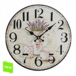 Reloj de Pared Lavanda 34 cm