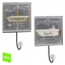 Perchero x2 Modelos Salle De Bain 12 cm