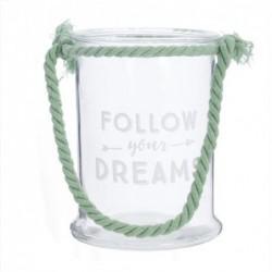 Candel Cristal Follow