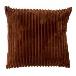 Cojin Rayas Choco 45x45 cm