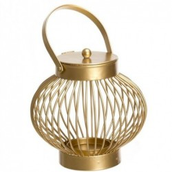 Candel Metal Oro 20 cm