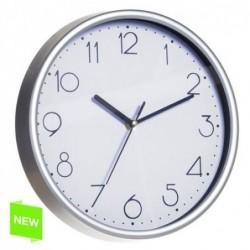 Reloj de Pared Numeros Silver 25 cm