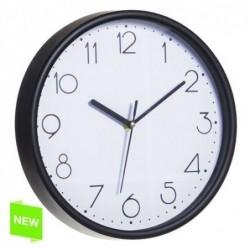 Reloj de Pared Numeros Negro 25 cm