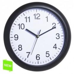 Reloj de Pared Numeros Negro 27 cm