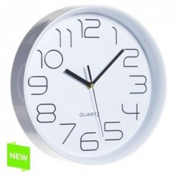 Reloj de Pared Numeros Blanco 28 cm