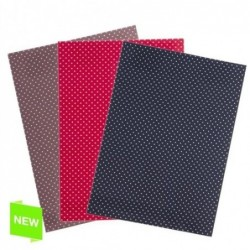 Tela A4 x3 Colores Adhesiva Decorativa