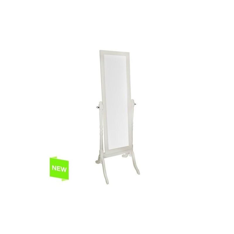 Espejo Vestidor Madera Ivory 158x48 cm