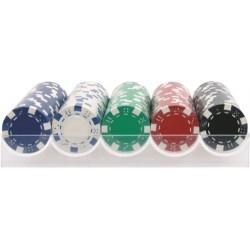 Estuche 100 fichas Poker 11